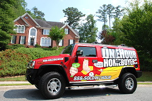 OneHourHomebuyers.com Hummer - We buy houses in 1 hour or less