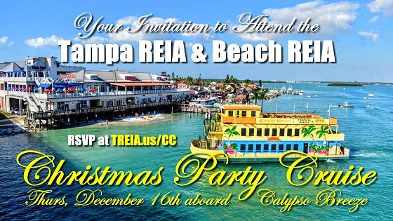 Tampa REIA Beach REIA Christmas Party Cruise