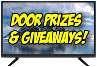 Door Prizes and Giveaways