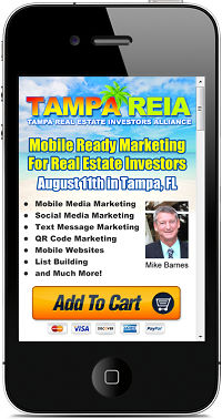Tampa REIA Mobile Website