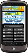 Tampa REIA Mobile Website