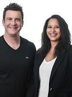 Jason Roberts and Rachel Schneider